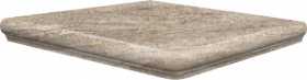 Ступень угловая Frankfurt Eckflorentiner Gelbbeige 32×32