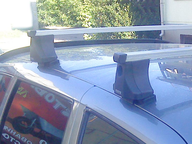 Багажник на крышу на Chevrolet NIVA, Атлант - прямоугольные дуги