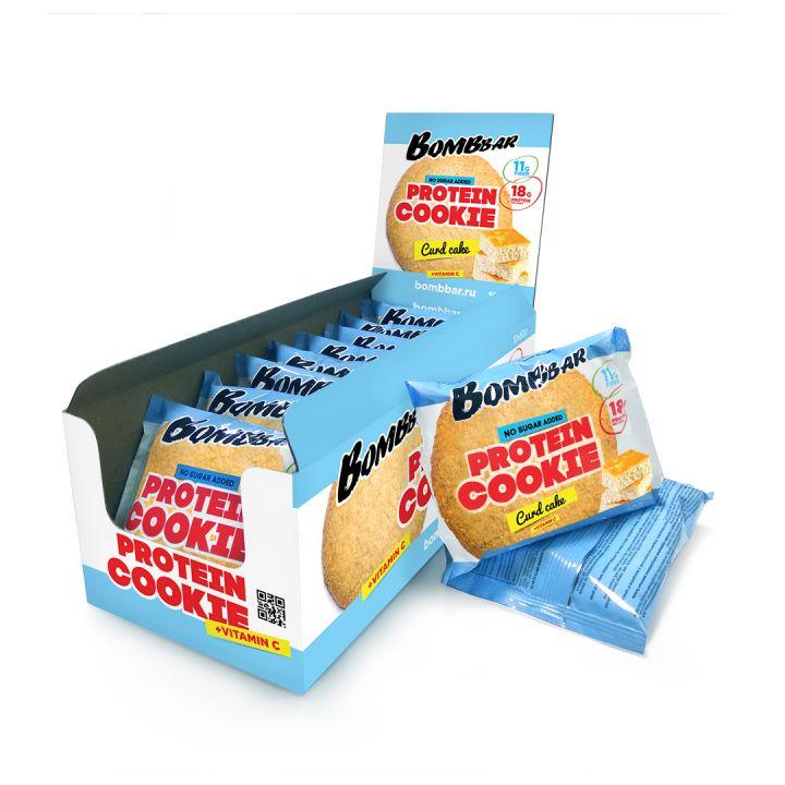 Протеиновые печенье Bombbar в ассортименте