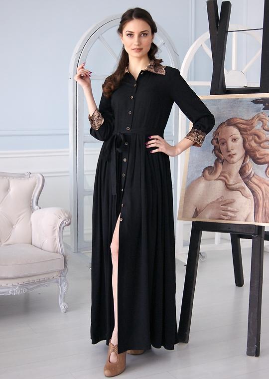 Черное платье Королева