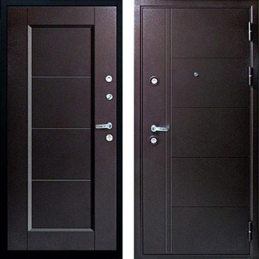 Входная дверь FERRUM 10 СМ (металл-металл)