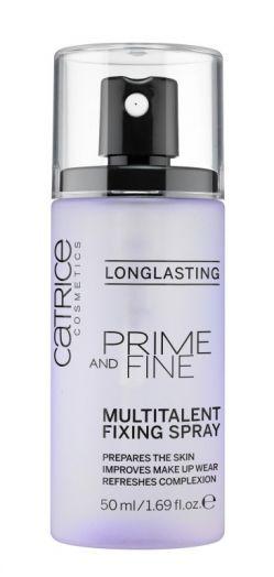 CATRICE Фиксирующий спрей для макияжа Prime And Fine Multitalent Fixing Spray