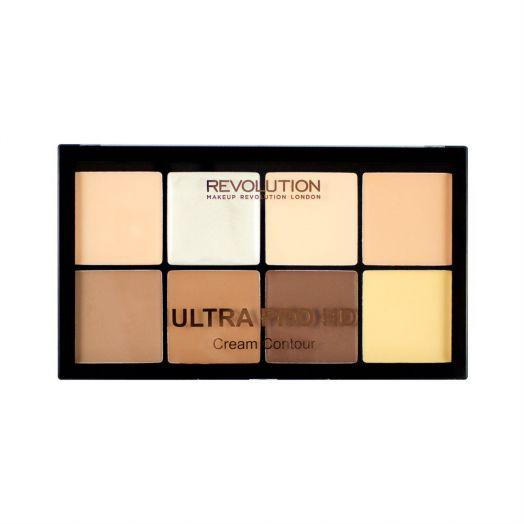 Revolution Makeup Палетка для контурирования HD Pro Cream Contour, Fair
