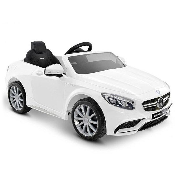Детский электромобиль Mercedes Benz S63 LUXURY 2.4G - Белый