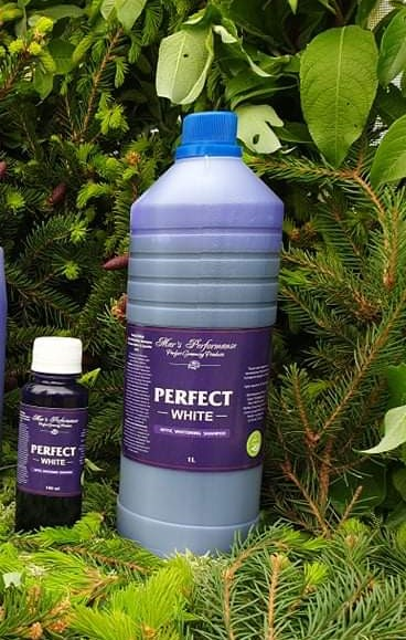Perfect White Optic Whitening Shampoo for Snow-white & Sparkle coat 1 L