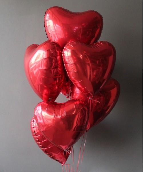 "Набор шаров ""Сердце"""