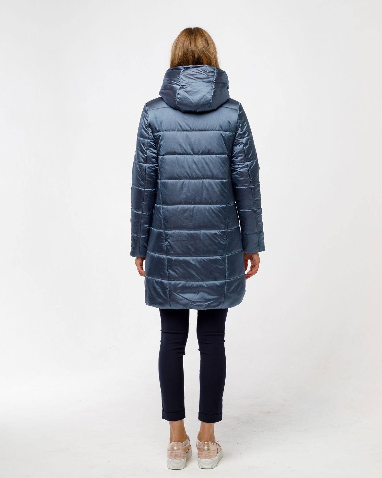Пальто женское HEIDEN цвет серо-синий вид3