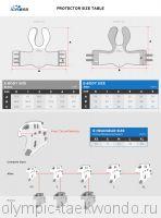 Размеры протекторов и шлемов iCROSS