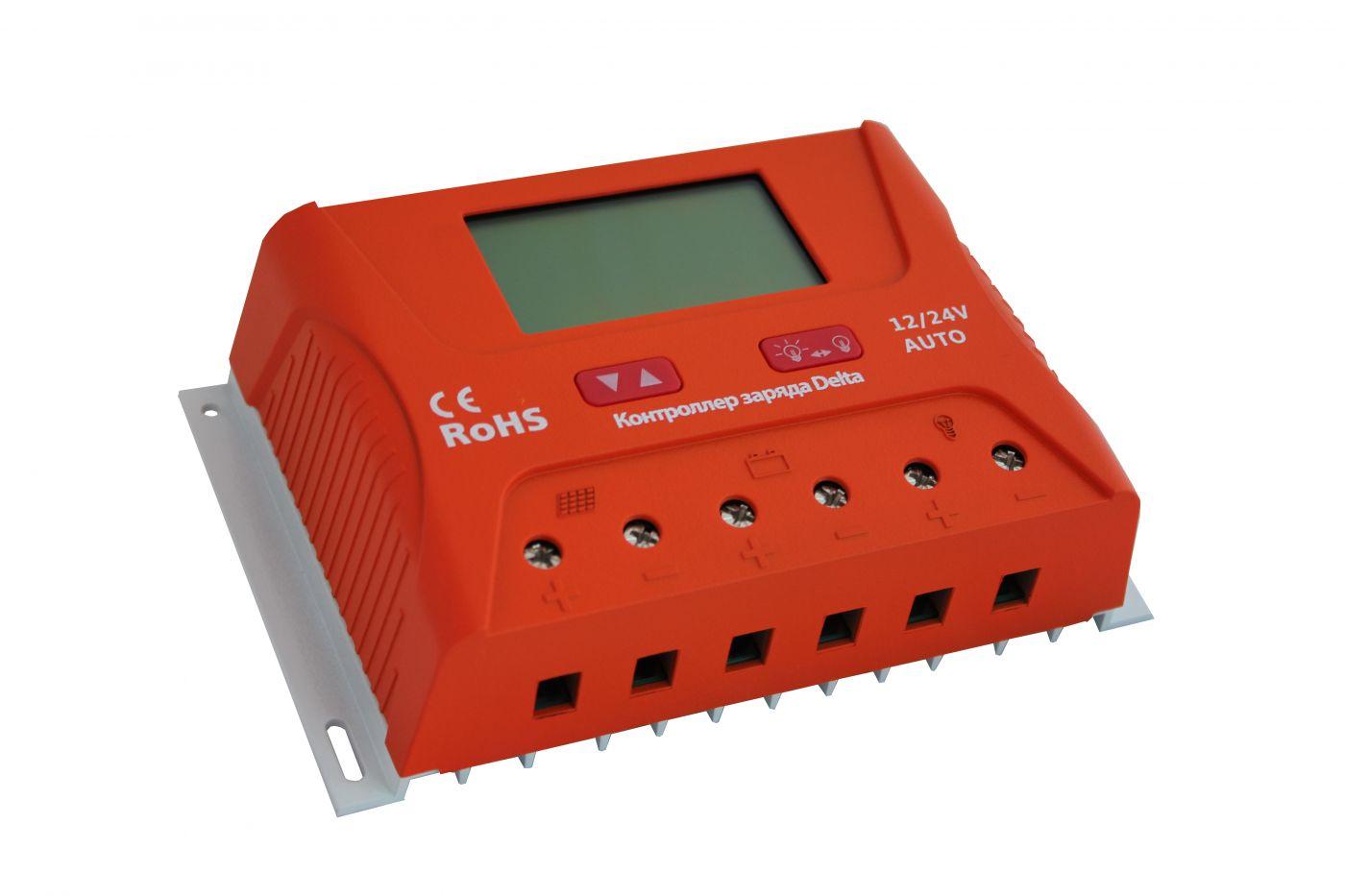 Контроллер PWM2430(2440) 30А(40A), 12V/24V