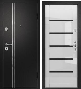 Входная дверь Медея 321 (М1) Вена белый глянец