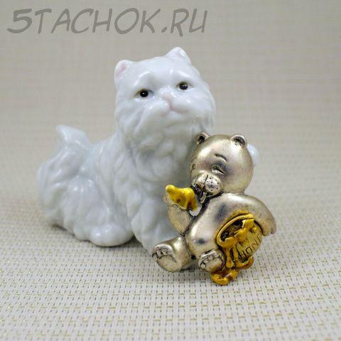 """Брошь """"Мишка любит мед"""" (Danecraft США)"""
