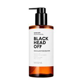 Missha Super Off Cleansing oil Black Head Off 305ml - Гидрофильное масло против угрей