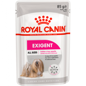 Консервы Royal Canin Exigent Pouch Loaf паштет для собак привередливых в питании 85 г