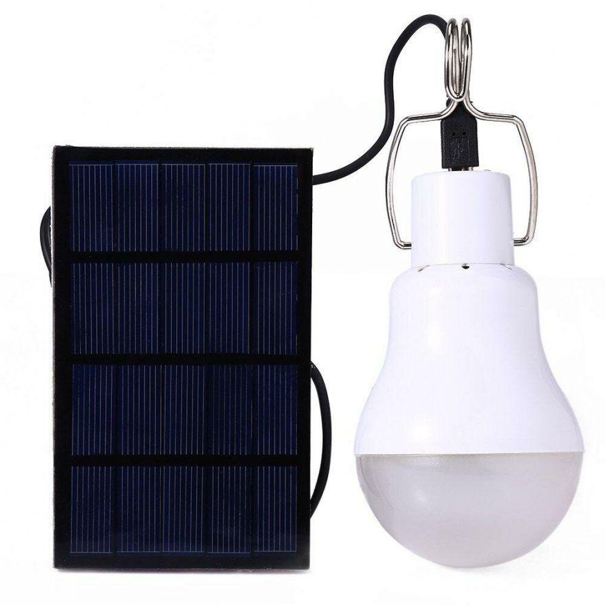 Лампа (светодиодная) на солнечной батарее с аккумулятором