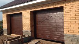 Секционные гаражные ворота Дорхан Doorhan RSD02