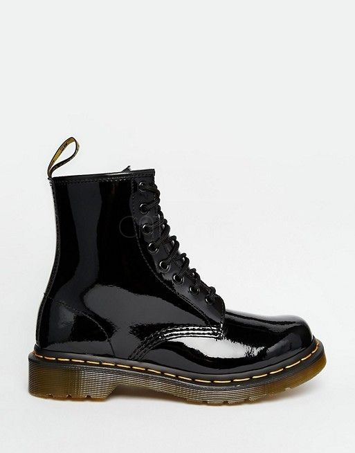 Dr Martens 1460 Black Lacquered