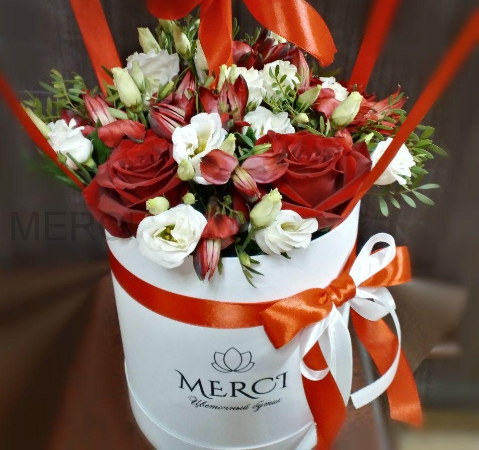 Коробка с цветами №10