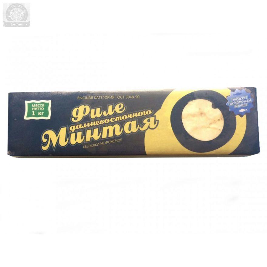 Филе Минтая в коробке 1 кг