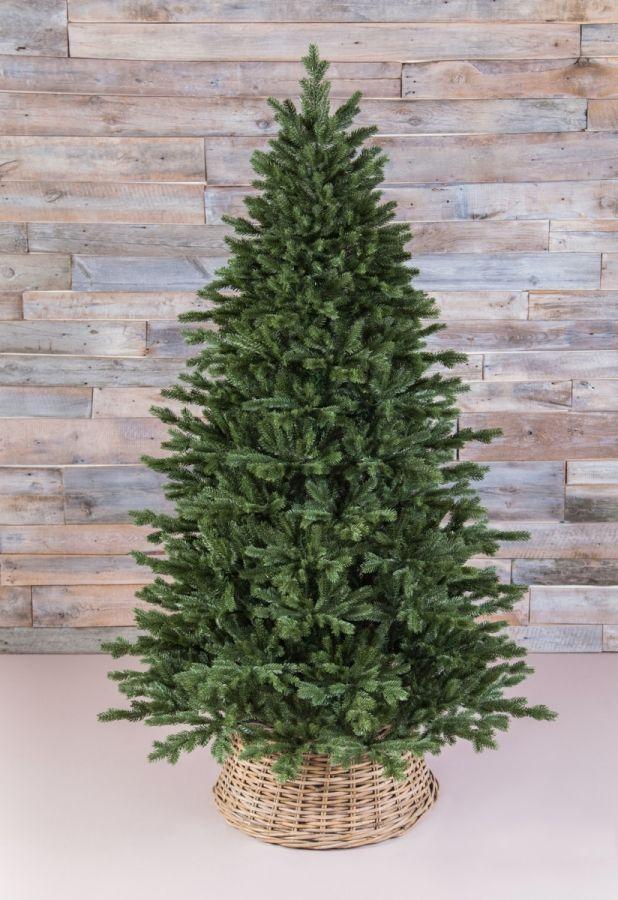 Искусственная елка Шервуд премиум 100% Литая 185 см зеленая