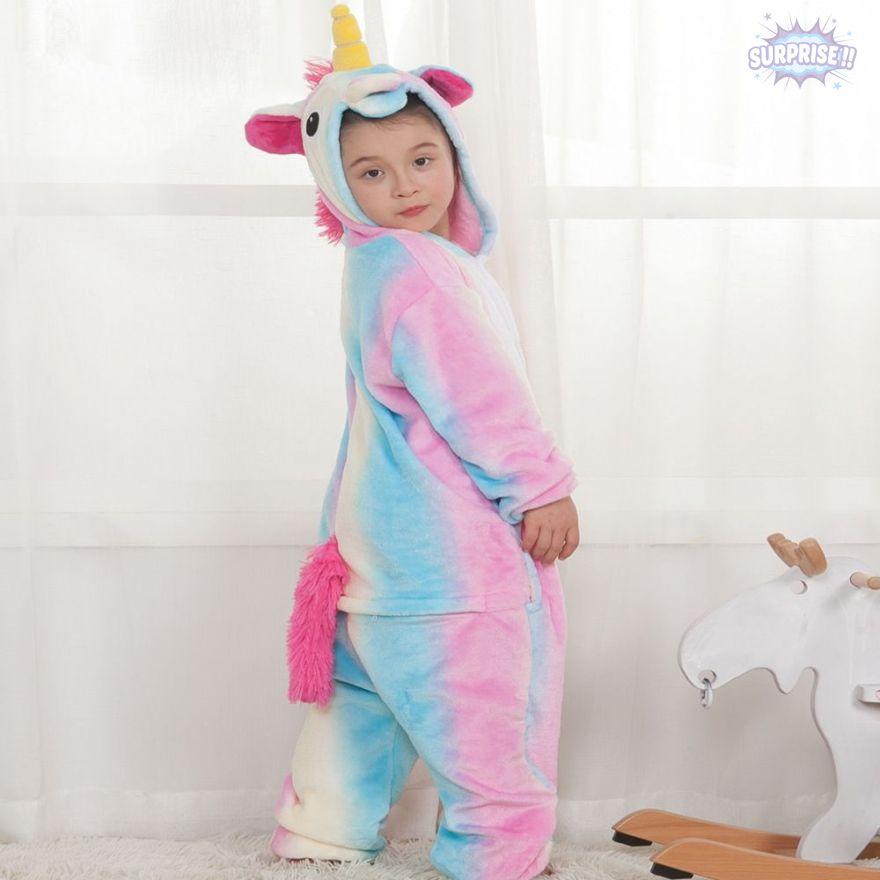 Кигуруми пижама-комбинезон Единорог нежный