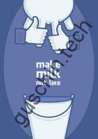 "Декоративная панель ""Guschin"" & ""Саша Крамар"" - ""Make milk not like"""