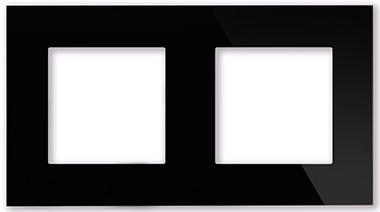 Рамка черная CGSS P102 BC (без механизмов)