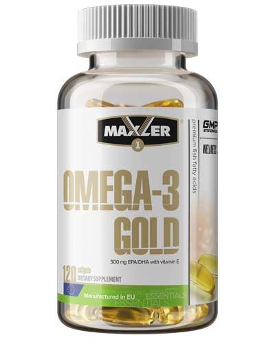 Maxler - Omega-3 Gold (120 гел. капс)
