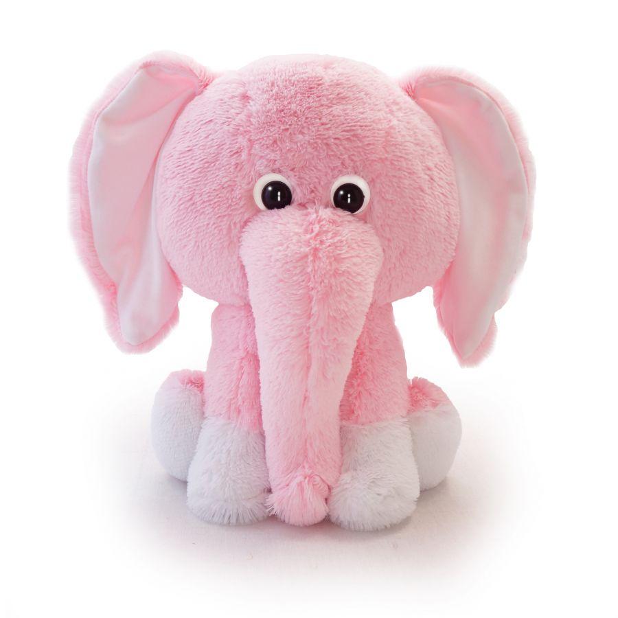 Слоненок Леон (Сидя - 45см) Розовый