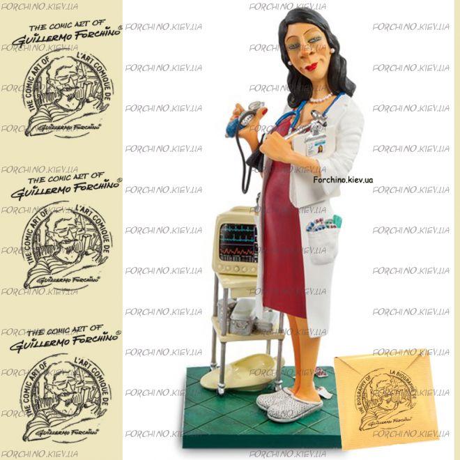 """Фигурка женщина доктор 85520 """"Madam Doctor. Forchino"""""""