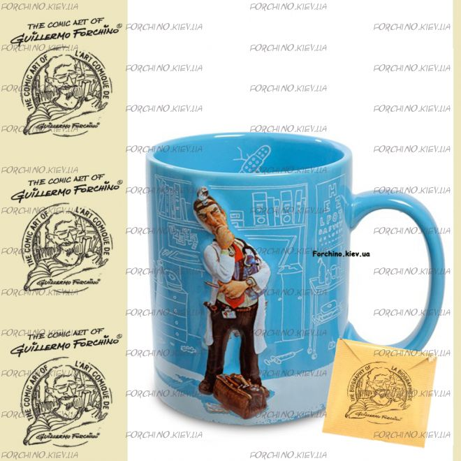 "Чашка доктор 83003 ""Mug The Doctor. Forchino"""