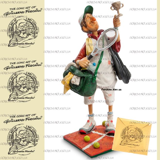 "Фигурка теннисист 84008 ""The tennis player. Forchino"""