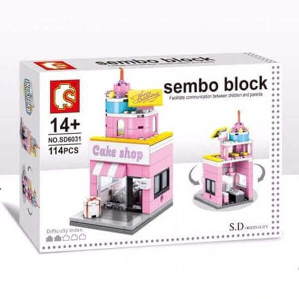 Конструктор Sembo Block Mini World. Cake Shop