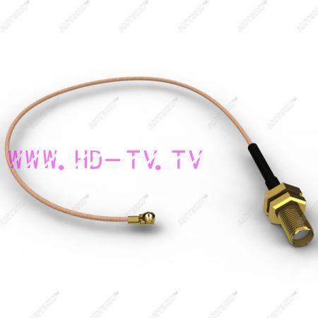 Антенный адаптер Uf.l-female (I P X) - 150мм -SMA-female