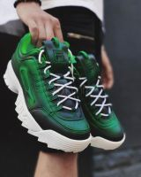 FILA Disruptor II  Green Frozen Custom