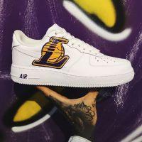 Nike Air Force 1 low Custom Lakers 34