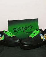 Nike Air Force 1 low Custom Rick and Morty
