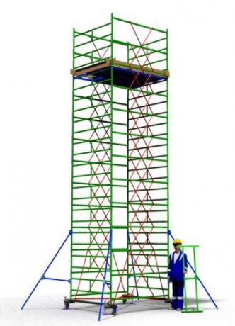 Вышка тура ВСП 1,2х2,0 (высота 2,8 метра)