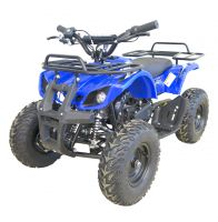MOTAX Mini Grizlik X-16 BIG Wheel бензиновый синий вид 1