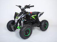 MOTAX Gekkon 70 сс Квадроцикл бензиновый черно-зеленый вид 1