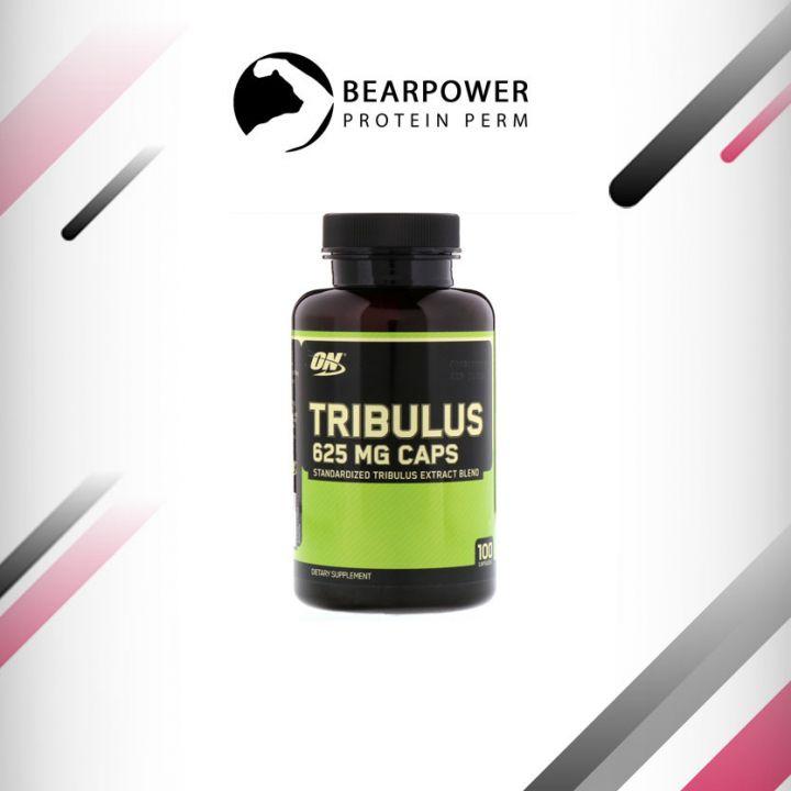 Tribulus Optimum Nutrition, Якорцы, 625 мг, 100 капсул