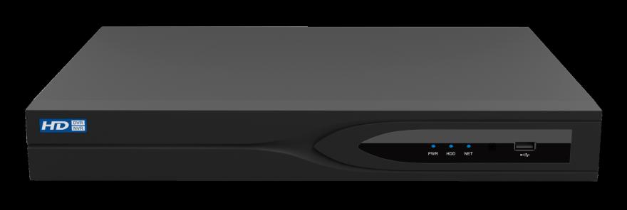 Модель 0342 (NVR-0801-01), 8 каналов, 1х8 TB