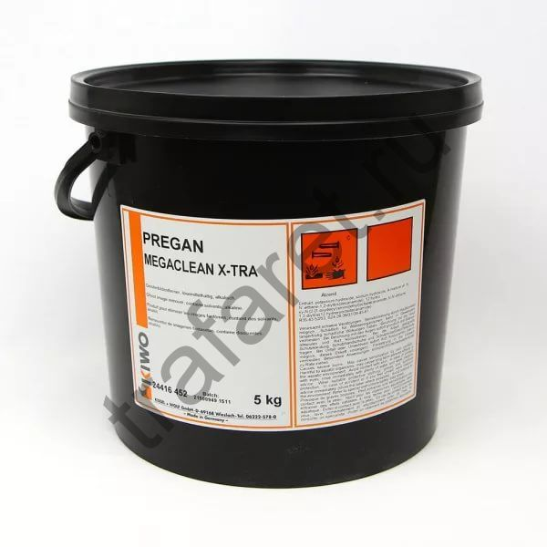 """Pregan Megaclean X-TRA (5 кг). Очиститель """"фантомных"""" изображений."""