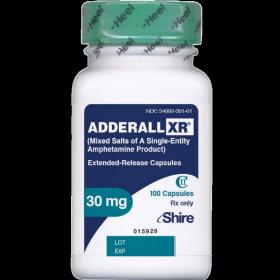 Аддералл XR 30мг 100таб
