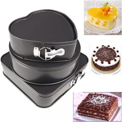 Набор фигурных форм для выпечки Cake Mould