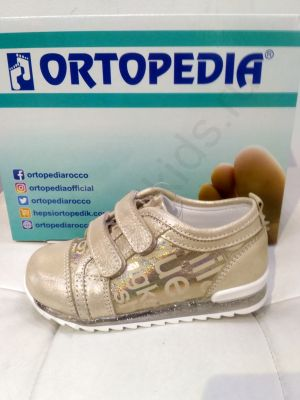 SA 343-1 Ortopedia Кроссовки Детские (21-25) в бежевом цвете