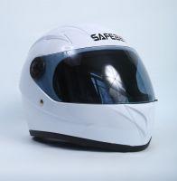 Шлем интегральный белый вид 1