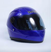 Шлем интегральный синий вид 1