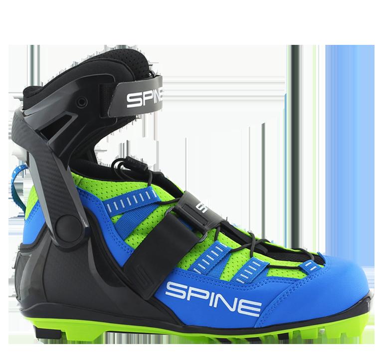 ботинки лыжероллерные spine concept skiroll skate pro nnn 18