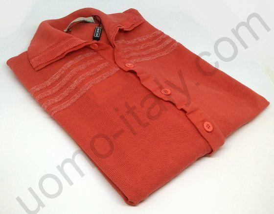 Мужская рубашка-поло Giorgio Porta оранжевая (последний размер 50)
