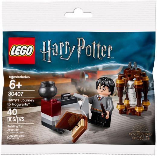 Путешествие Гарри в Хогвартс. LEGO Гарри Поттер 30407